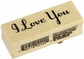 Inkadinkado Valentine Mounted Rubber Stamp - I Love You