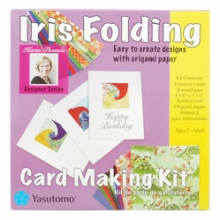 Iris Folding Card Making Kit - Click to enlarge