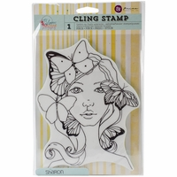 Jamie Dougherty Bloom Cling Stamps