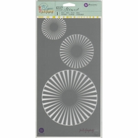 """Jamie Doughtery Bloom Stencil 6""""x12"""" - Circles"""