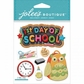 Jolee's Boutique Dimensional Stickers - 1st Day Of School