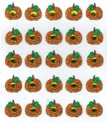 Jolee's Boutique Dimensional Stickers - Pumpkin Repeats - Click to enlarge