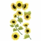 Jolee's Boutique Le Grande Dimensional Sticker - Sunny Sunflowers