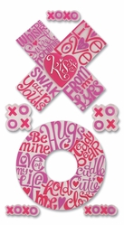 Jolee's Boutique Le Grande Dimensional Stickers - Hugs & Kisses - Click to enlarge