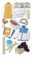 Jolee's Boutique Le Grande Dimensional Stickers - School Shopping