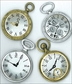 Jolee's Boutique Parcel Dimensional Stickers - Vintage Pocket Watches
