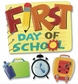 Jolee's Boutique Themed Ornate Stickers - First Day of School Word