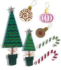 Jolee's Boutique Themed Simple Stickers - Holiday Decorations