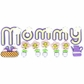 Jolee's Boutique Title Wave Stickers - Mommy