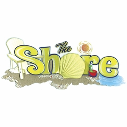 Jolee's Boutique Title Wave Stickers - On The Shore - Click to enlarge