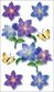 Jolee's Boutique Vellum Stickers - Purple Flowers