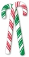 Jolee's Christmas Stickers - Candy Canes 2