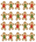 Jolee's Christmas Stickers - Ginger Bread Repeats