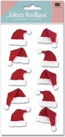 Jolee's Christmas Stickers - Santa Hats