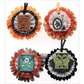 Jolee's Halloween Stickers - Metallic Honeycombs