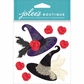 Jolee's Halloween Stickers - Witch Hats
