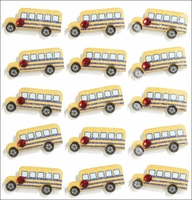 Jolee's Mini Repeats Stickers - School Bus