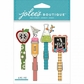Jolee's Mini Repeats Stickers - School Clips