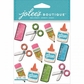 Jolee's Mini Repeats Stickers - School Supplies