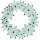 Joy! Crafts Cut & Emboss Dies - Circle With Ice Crystals