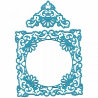 Joy! Crafts Cut & Emboss Dies - Ornate Square Frame & Delicate Corners