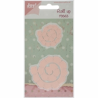 "Joy! Crafts Cutting Dies - Roll Up Roses Rounded 1.5"" to 2.25"""
