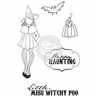 Julie Nutting Cling Stamps - Witchy Poo