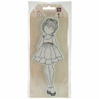 Julie Nutting Doll Cling Stamps