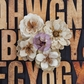 "Jutes Burlap Flowers 2"" to 2.75"" - Joyous"