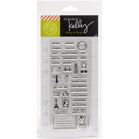 Kelly Purkey Clear Stamps - Adventure Planner