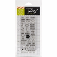 Kelly Purkey Clear Stamps - Sports Planner