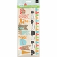 "Knee Highs & Bow Ties Stitched Die-Cut Paper Garland 12"" - Bow Ties"
