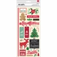 Kringle & Co. Remarks Cardstock Stickers - Hollymint