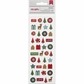 Kringle & Co. Remarks Mini Matte Puffy Stickers - Snowtoes Accents