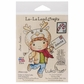 La-La Land Cling Mount Rubber Stamp - Letter To Santa Luka