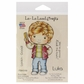 La-La Land Cling Mount Rubber Stamp - Retro Luka