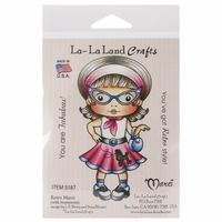 La-La Land Cling Mount Rubber Stamp - Retro Marci
