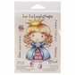 La-La Land Cling Mount Rubber Stamp - Sassy Princess Marci