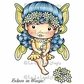 La-La Land Cling Mount Rubber Stamp - Daisy Faerie Marci