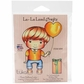 La-La Land Cling Mount Rubber Stamp - Heart Balloon Luka