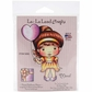 La-La Land Cling Mount Rubber Stamp - Heart Balloon Marci