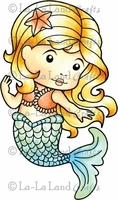 La-La Land Cling Mount Rubber Stamp - Mermaid Marci