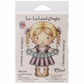 La-La Land Cling Mount Rubber Stamp - Snowflake Garland Marci