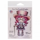La-La Land Cling Mount Rubber Stamp - Top Hat Steampunk Marci