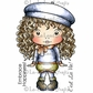 La-La Land Cling Mount Rubber Stamps - Beret Marci