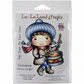 La-La Land Cling Mount Rubber Stamps - Drummer Boy Luka