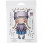 La-La Land Cling Mount Rubber Stamps - Paper Doll Marci/Winter