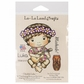 La-La Land Cling Mount Rubber Stamps - Ukulele Luka