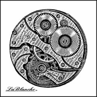 """LaBlanche Silicone Stamp 2""""x2"""" - Working Together"""
