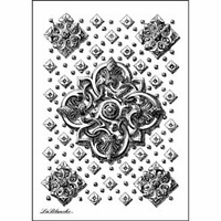 """LaBlanche Silicone Stamp 3.25""""x4.75"""" - Ceiling Pannel"""